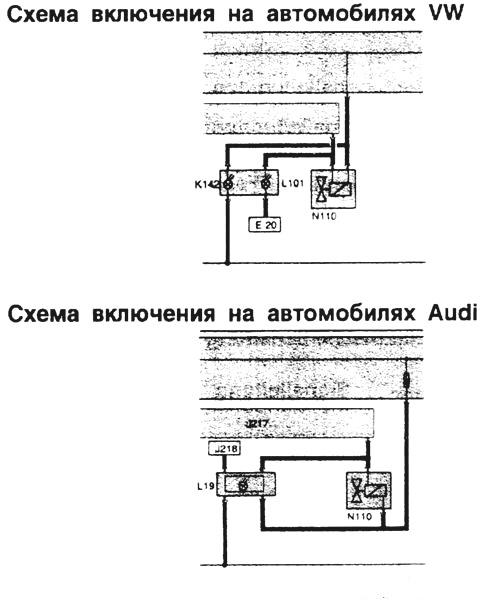 БМВ 320, БМВ 525 - Схема
