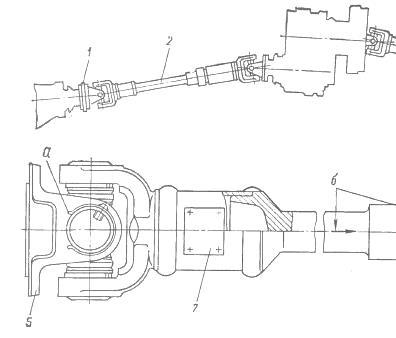 Карданная передача УАЗ-469,